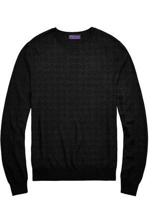 Ralph Lauren Men Sweatshirts - Silk & Cashmere Crewneck Sweater