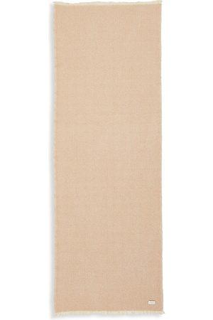 Agnona Women Scarves - Natte Diagonal Cashmere Scarf