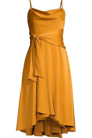 Aidan Mattox Women Dresses - Satin Cowl Neck Dress