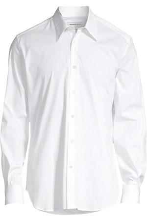 Alexander McQueen Men Long sleeves - Long-Sleeve Classic Button-Down Shirt