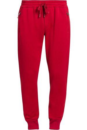 Dolce & Gabbana Plaque Logo Sweatpants