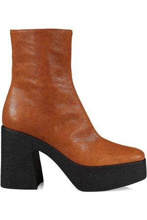 BROTHER VELLIES Women Heeled Boots - Empire Leather Platform Boots