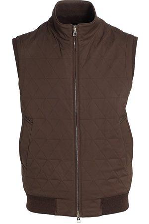 brett johnson Men Gilets - Portofino Quilted Zip Vest