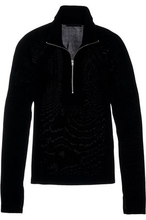Helmut Lang Women Sports Hoodies - Half-Zip Pullover