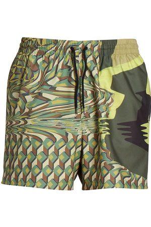DRIES VAN NOTEN Men Swim Shorts - Drawstring Swim Trunks