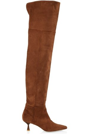 BROTHER VELLIES Women Thigh High Boots - Ronstadt Suede Boots