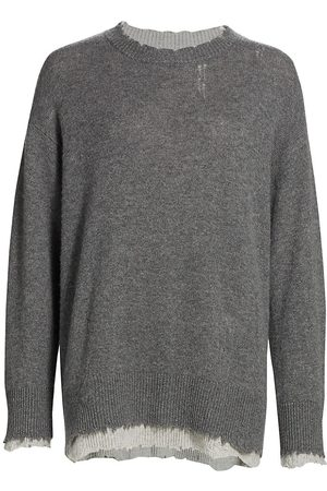 R13 Women Sweatshirts - Reversible Crewneck Sweater