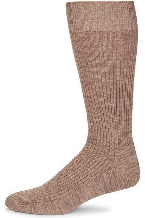 Saks Fifth Avenue Men Socks - COLLECTION Ribbed Melange Socks
