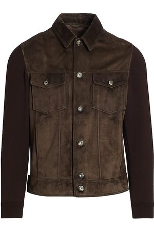 brett johnson Men Leather Jackets - Sedona Suede Jacket