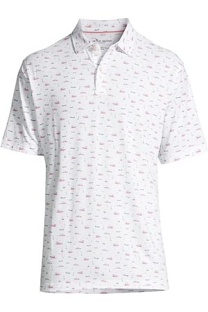 Peter Millar Men Polo Shirts - Drirelease Natural Touch Lighthouse Polo