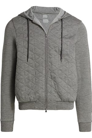 brett johnson Men Sports Hoodies - Quilted Sport Jersey Hoodie