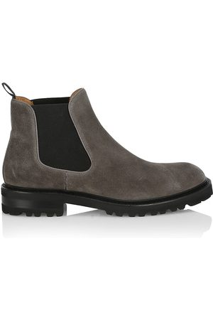 Saks Fifth Avenue Men Chelsea Boots - COLLECTION Suede Chelsea Boots