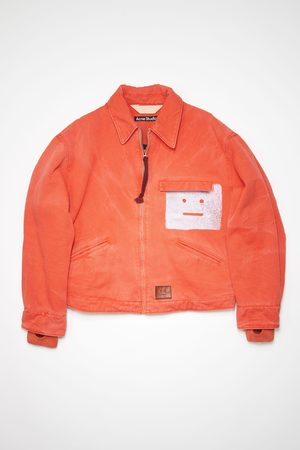 Acne Studios FA-UX-OUTW000055 Padded face jacket