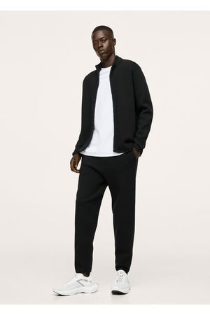 MANGO Men Sweatpants - Stretch knit joggers