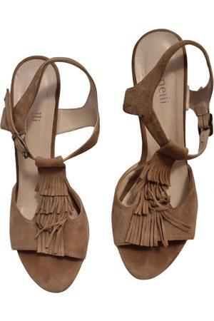 Minelli Velvet sandals