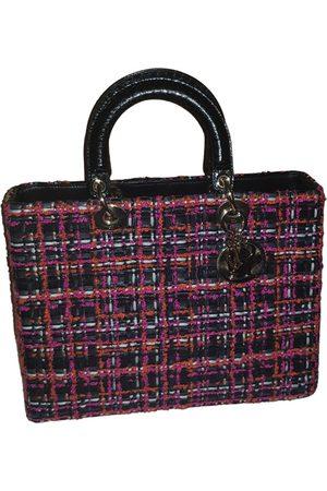 Dior Lady tweed handbag