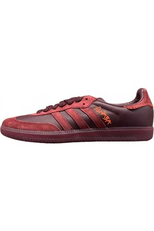 adidas Samba leather low trainers