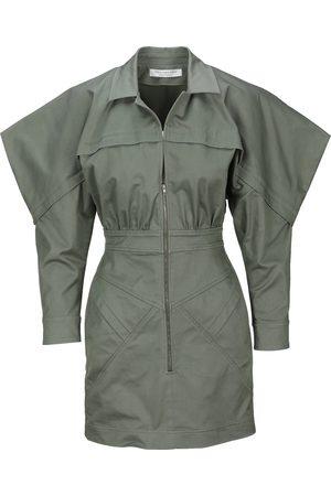 Philosophy Square sleeves mini dress