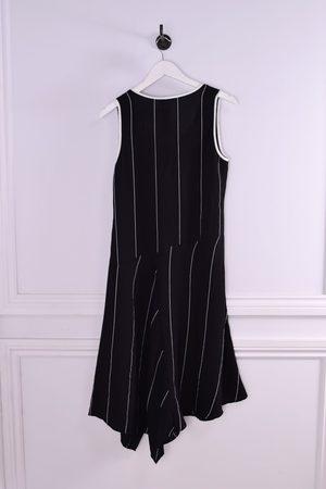 CREA Stripe Sleeveless Dress