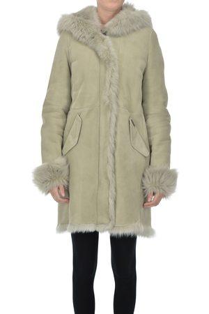 Woolrich Women Parkas - Shearling parka coat