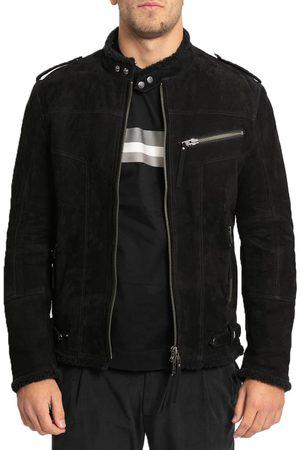 OFFICINA 36 Men Leather Jackets - Zip-Up Leather Jacket
