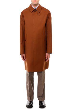MACKINTOSH Men Rainwear - Wool and mohair raincoat