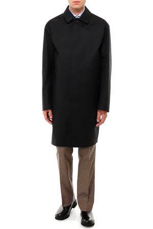 MACKINTOSH Wool and mohair raincoat