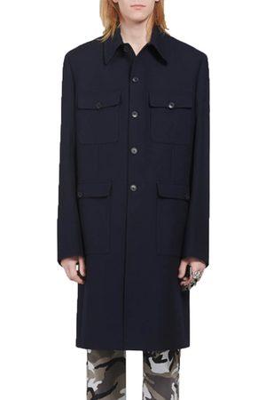 Balenciaga Men Coats - Military Coat