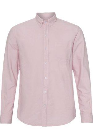 Colorful Standard Men Shirts - Organic Button Down Oxford Shirt Faded