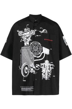 Givenchy Schematics Print Shirt
