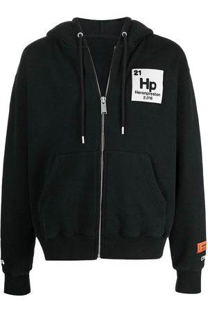 Heron Preston Men Hoodies - Logo-Patch Zip-Up Hoodie