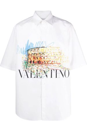 VALENTINO Men Shirts - Graphic Print Shirt