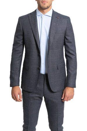 corneliani Check Two-Piece Formal Suit