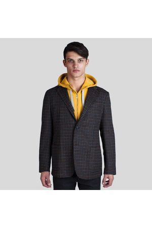 Z Zegna Men Blazers - Grey Check Wool Marco Blazer