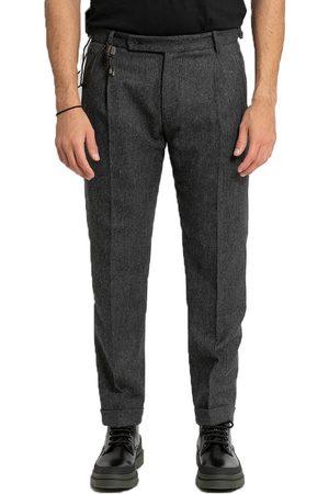 Berwich Retro Slim-Fit Trousers