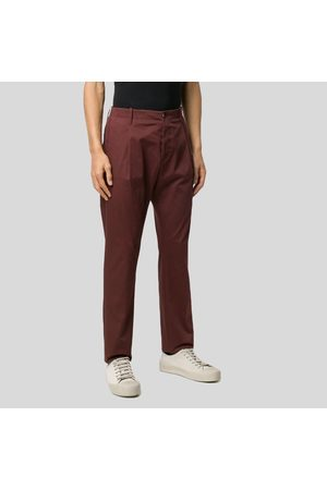 Nine In The Morning Tailored Style Trousers-Bordeaux