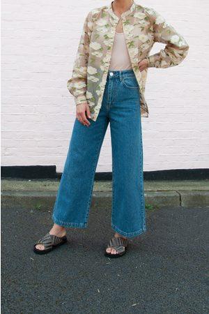 Just Female Calm Light Wide Leg Jeans