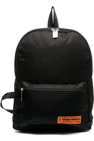 Heron Preston Logo Patch Backpack