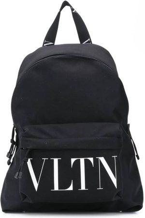 VALENTINO Logo-Print Backpack