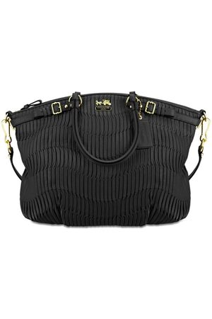 Luxe Designers Women Purses - Coach Madison Gathered Leather Lindsey Hobo Bag