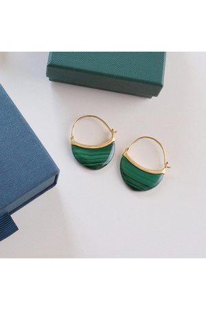 Pernille Corydon Women Earrings - Small Malachite Earrings