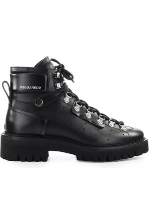 Dsquared2 HIKING HECTOR LEATHER COMBAT BOOT