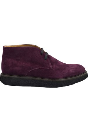 corneliani Men Ankle Boots - Suede Ankle Boots