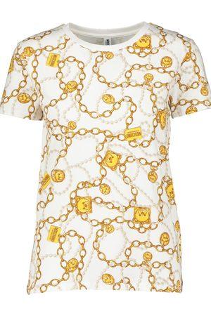 Moschino Womens Lounge Chain Teddy T Shirt