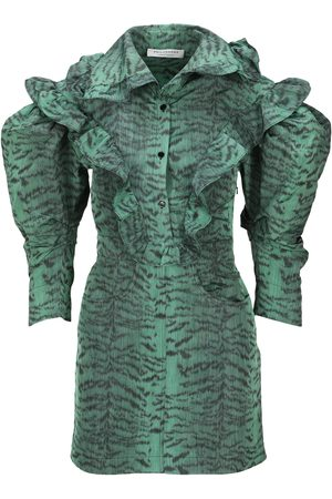 Philosophy Women Party Dresses - Taffeta tiger mini dress
