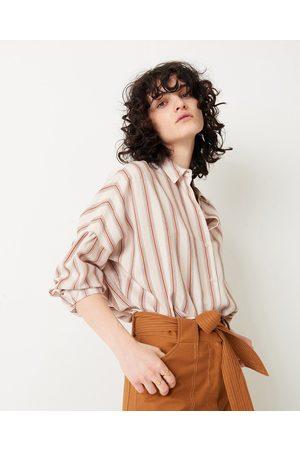 Sess n Women Shirts - Sessun Botan Blush Striped Shirt