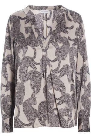 Dea Kudibal Santena Silk Shirt Amur Taupe