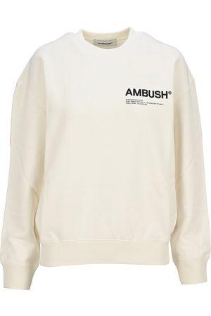 AMBUSH Classic logo crew neck sweatshirt
