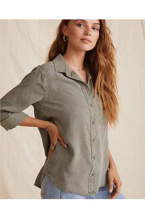 Bella Dahl Women Shirts - Army Shirt