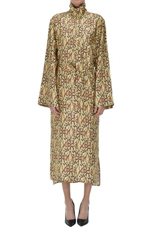 Les Coyotes de Paris Printed silk dress